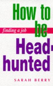 Cover of: Finding a Job