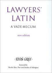 Cover of: Lawyers' Latin