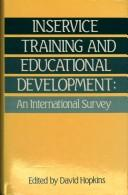 Cover of: In-Service Training and Educational Development
