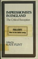Cover of: Impressionists in England