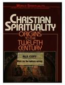 Cover of: Christian Spirituality (World Spirituality)
