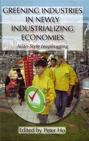 Cover of: Greening Industries in Newly Industrializing Economies
