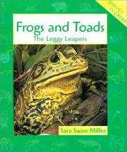 Cover of: Frogs and Toads: The Leggy Leapers (Animals in Order)