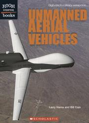 Cover of: Unmanned aerial vehicles
