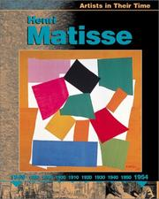 Cover of: Henri Matisse (Artists in Their Time)