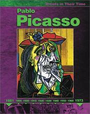 Cover of: Pablo Picasso (Artists in Their Time)