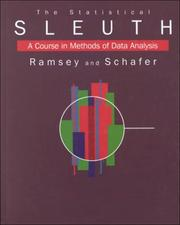 Cover of: The Statistical Sleuth