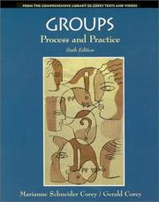 Cover of: Groups: Process and Practice
