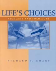 Cover of: Life's choices