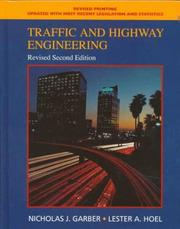 Cover of: Traffic and Highway Engineering