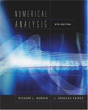 Cover of: Numerical Analysis