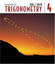 Cover of: Essentials of Trigonometry (with CD-ROM and iLrn Tutorial)