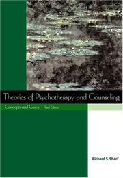Cover of: Theories of Psychotherapy & Counseling With Infotrac