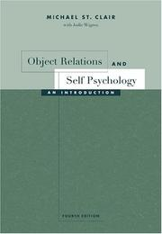 Cover of: Object Relations and Self Psychology
