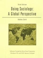 Cover of: Doing Sociology