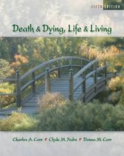 Cover of: Death and Dying