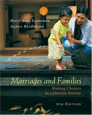 Cover of: Marriages and Families