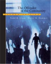 Cover of: The offender in the community
