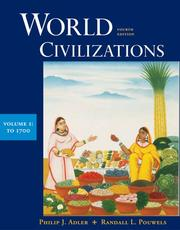 Cover of: World Civilizations: Volume I