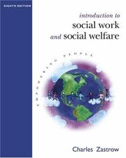 Cover of: Introduction to Social Work and Social Welfare With Infotrac