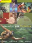 Cover of: Thomson Advantage Books: Evolution and Prehistory: The Human Challenge