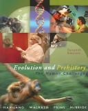 Cover of: Evolution and Prehistory