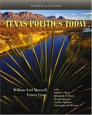 Cover of: Texas Politics Today (with InfoTrac) (Texas Politics Today)