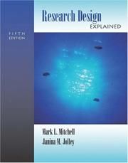 Cover of: Research Design Explained (with InfoTrac)