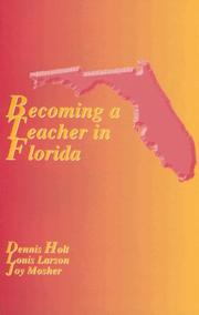 Cover of: Becoming a Teacher in Florida