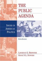 Cover of: The Public Agenda