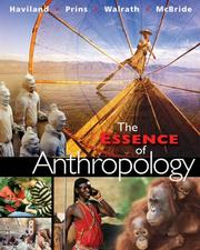 Cover of: The Essence of Anthropology