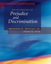 Cover of: The Psychology of Prejudice and Discrimination