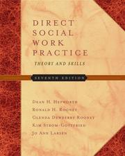 Cover of: Direct Social Work Practice