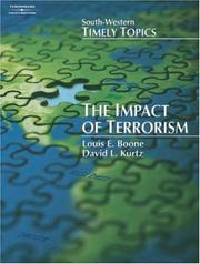 Cover of: The Impact of Terrorism