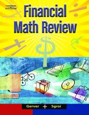 Cover of: Financial Math Review