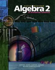 Cover of: South-Western Algebra 2