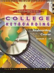 Cover of: College Keyboarding, Keyboarding Course