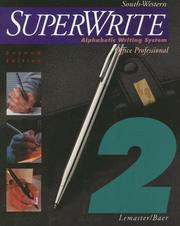 Cover of: SuperWrite