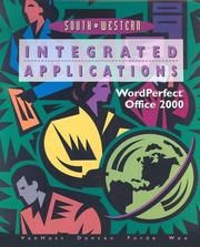 Cover of: Integrated Applications,WordPerfect, Office 2000