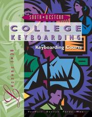 Cover of: College Keyboarding,Microsoft Word 2000, Lessons 1-30