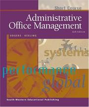 Cover of: Administrative Office Management, Short Course (Administrative Office Management (Short Course))