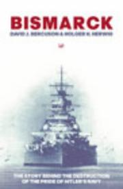 "Cover of: ""Bismarck"""