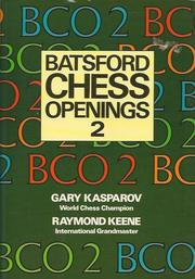 Cover of: BCO2 Batsford Chess Openings 2