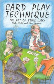 Cover of: Card Play Technique