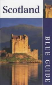 Cover of: Scotland (Blue Guides)