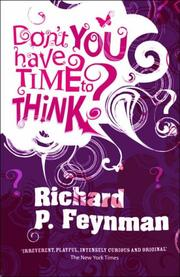 Cover of: Don't You Have Time to Think?
