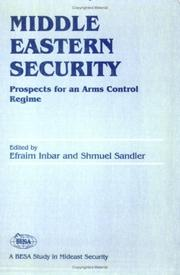 Cover of: Middle Eastern Security