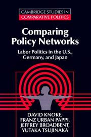 Cover of: Comparing policy networks