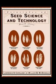 Cover of: Principles of Seed Science and Technology - Fourth Edition