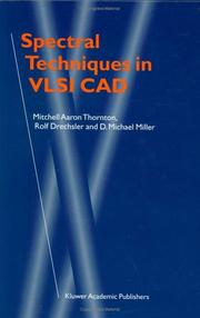 Cover of: Spectral Techniques in VLSI CAD